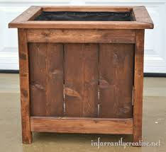 cedar planter box design plans diy free download outdoor projects