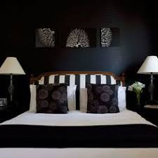 Wonderful Black And Blue Bedroom Images About Master With Decor