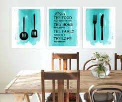 Kitchen Room Wall Art Signs Artwork Ideas Decor Diy Gallery One Decoration For