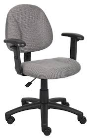 Fabric Task Chair Walmart by Amazon Com Boss Office Products B316 Gy Perfect Posture Delux