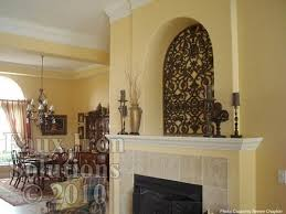 Tableaux Faux Wrought Iron Wall Niche Decor This Product Can Be Custom Made For Arches