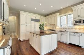 Off White Cabinets How Black Appliances Look In A Cream Colored Intended For Color Kitchen