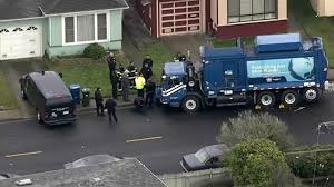 100 Garbage Truck Accident Man Struck Killed By Own In Daly City NBC