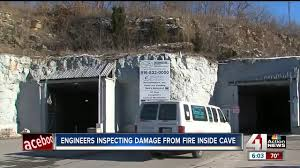 100 Kansas City Trucking Co Owners Fear KC Cave Fire Ruined Their Business
