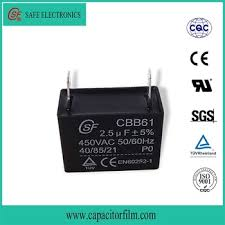Cbb61 Ceiling Fan Capacitor 2 Wire by For Ceiling Fan Capacitor 2 Wire 2uf Capacitor Cbb61 Buy High