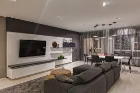 wohnung einrichten in grau wohnzimmer gestalten modern
