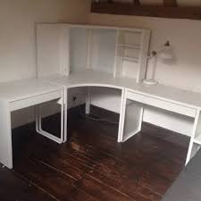 White Computer Desk With Hutch Ikea by Create Corner Desk With Hutch Ikea All Office Desk Design