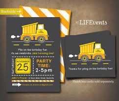 Yellow Dump Truck Construction Birthday Invitation By LIFEvents ... 9 Of The Best Kids Birthday Party Ideas Gourmet Invitations Cstruction Invite Dumptruck Invitation 5x7 Free Printable Cstruction Invitations Idevalistco Tandem Dump Trucks For Sale Also Truck Safety Procedures And Gmc 25 Digger Fill In 8th Card Luxury Boy Tonka Classic Toy Amazoncouk Toys Games Transportation Train Invite Car Play Everyday Mom