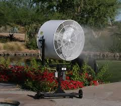 Portable Patio Misting Fans by Patio Misters Lowes Home Outdoor Decoration