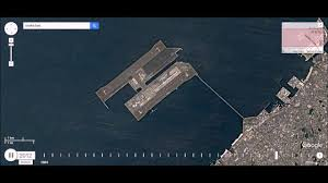 Kansai Airport Japan Sinking by Kansai Airport Artificial Island Construction Youtube