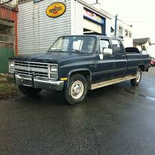 Finally Bought My Dream Truck , 1986 Chevy Custom Deluxe 20 Crew Cab ...