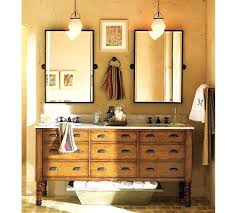 Pottery Barn Bathroom Accessories by Pottery Barn Oval Bathroom Mirror Pottery Barn Mirrored Bath