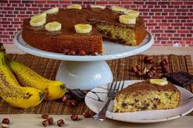 kiras bakery bananen nutella kuchen saftig und