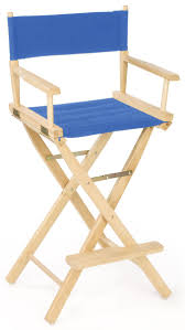 100 Folding Chairs With Arm Rests Director 29 Wooden Chair W Blue Canvas Seat Rest