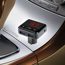 FM Transmitter Hands free Wireless Bluetooth Car Kit MP3 Player