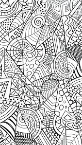 Adult Colouring Coloring Pages Adults Free Printable Cool Designs Mandala Intricate Full Size