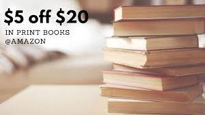 Amazon Books Coupon | $5 Off $20 In Print Books Purchase :: Southern ... How To Use Amazon Social Media Promo Codes Diaper Deals July 2018 Coupon Toyota Part World Kindle Book Coupon Amazon Cupcake Coupons Ronto Stocking Stuffer Alert Bullet Journal With Numbered Pages Discount Your Ebook On Book Cave Edit Or Delete A Promotional Code Discount Access Code Reduc Huda Beauty To Create And Discounts On Etsy Ebay And 5 Chase 125 Dollars 10 Off Textbooks Purchase Southern Savers Rare Books5 Off 15 Purchase 30 Savings