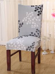 Ginkgo Biloba Print Stretchy Chair Cover | ROMWE Stretchy Chair Covers Best Home Decoration Btsky New High Back Office For Computer Subrtex Square Knit Stretch Ding Room 4pcs Cover Elastic Trade Me 160gsm Gold Spandex Banquet Tablecloths Floral Sure Fit Wing Slipcovers Of White Wingback Chair Black Your Inc Geometric Pattern Upholstery Easyfit Carolwrightgiftscom Red