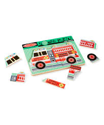 100 Melissa And Doug Trucks Fire Truck Sound Puzzle Zulily