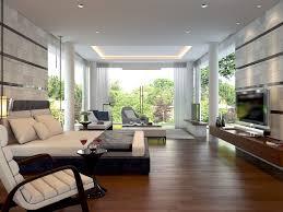Contemporary Dark Wood Floor Bedroom Idea In Other