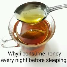 Honey before bed time A naturelle craving