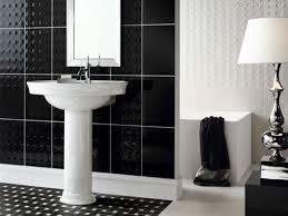 bathroom fabulous small black and white bathroom decoration using