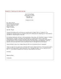 Example Letter Job Rejection Best Sample Thank You Letter