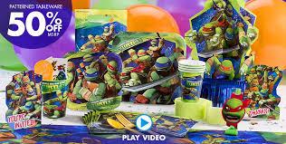 Ninja Turtle Themed Bathroom by Teenage Mutant Ninja Turtles Party Supplies Ninja Turtle