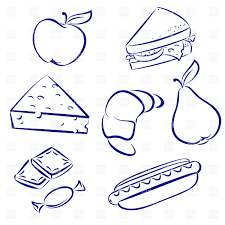 Snack Food Outline