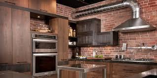 armoire cuisine en bois loft kitchen