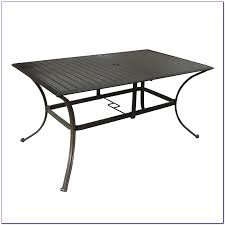 Rectangle Patio Tablecloth With Umbrella Hole by Small Patio Table With Umbrella Hole Patios Home Design Ideas