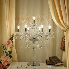 Crystal Table Lamps For Bedroom by 2017 European Style Crystal Lamp Bedroom Bedside Table Lamp