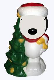 Halloween Blow Mold Display by Snoopy Santa Lighted Blow Mold Yard Decor Snoopn4pnuts Com