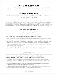 Contemporary Example Lpn Resume Licensed Practical Nurse Examples