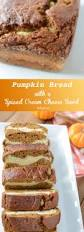 Pumpkin Swirl Cheesecake Bars by Pumpkin Bread With Spiced Cream Cheese Swirl