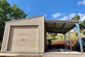 104 Skillian Roof Skillion Garages For Sale Shedsafe Accredited 100 Aussie Steel Call 1800 764 764