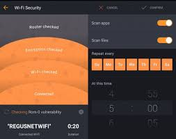 Avast for Android Wi Fi check