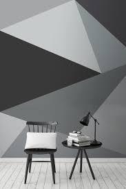 Big Ang Mural Brooklyn by Convex Wall Mural Geometric Wallpaper Monochrome And Wallpaper
