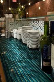 ribbon glass bar countertop contemporary kitchen vancouver