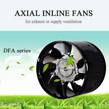 etexfan axial rohrventilator ø 150mm 780m h abluft zuluft