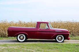 1961 Ford Unibody Pickup Has A Hot Rod Attitude - Hot Rod Network 1962 Ford F 100 Unibody Pickup Hot Rod Network Rboy Features Episode 3 Rynobuilts 1961 File1961 F100 Pickup Design Factory Original At 2015 Truck Front Stock Editorial Photo 8 Facts You Didnt Know About The 6163 Trucks Turbocharged No Reserve Used Promo Model Conv Flickr 63 Bagged Matte Fordtough Unibodyford Ford Unibody Youtube Project Lbrow