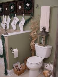 Gorgeous White Socks Hang On Wooden Towel Bar Added Toilet Also Cool Nautical Bathroom Decor Accesories Ideas