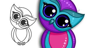 How To Draw A Super Cute Owl