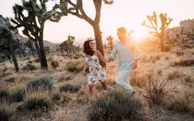 Engagement Shoot Ideas E Session In Joshua Tree National Park by Destination Wedding Photographer Italy Europe Usa