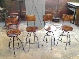 Target Bar Stools Metal Arms And Back Height Counter Chairs Patio Outdoor Rustic Industrial