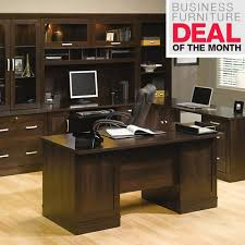 Realspace Broadstreet Contoured U Shaped Desk Cherry by Well Suited Office Depot Furniture Realspace Broadstreet Contoured