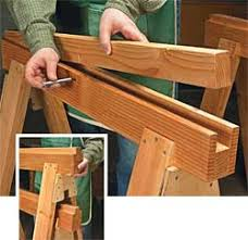 the saw horse workshop woodworking plans