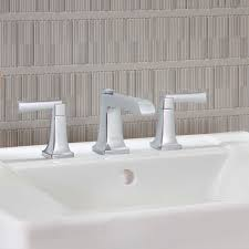 Brushed Nickel Bathroom Faucets Canada by Townsend Widespread Bathroom Faucet American Standard