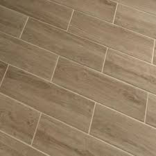 style selections serso wheat glazed porcelain floor tile common