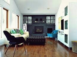 10 herrliche wohnzimmer mit schwarzer backsteinmauer für